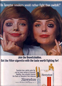 1965 Tareyton Ad