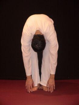 Yoga forward bend