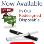 V2 Ecigarettes redesigned disposable