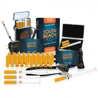 South Beach Smoke deluxe ultimate starter kit