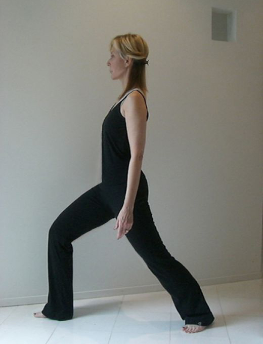 Easy Yoga stretch lunge
