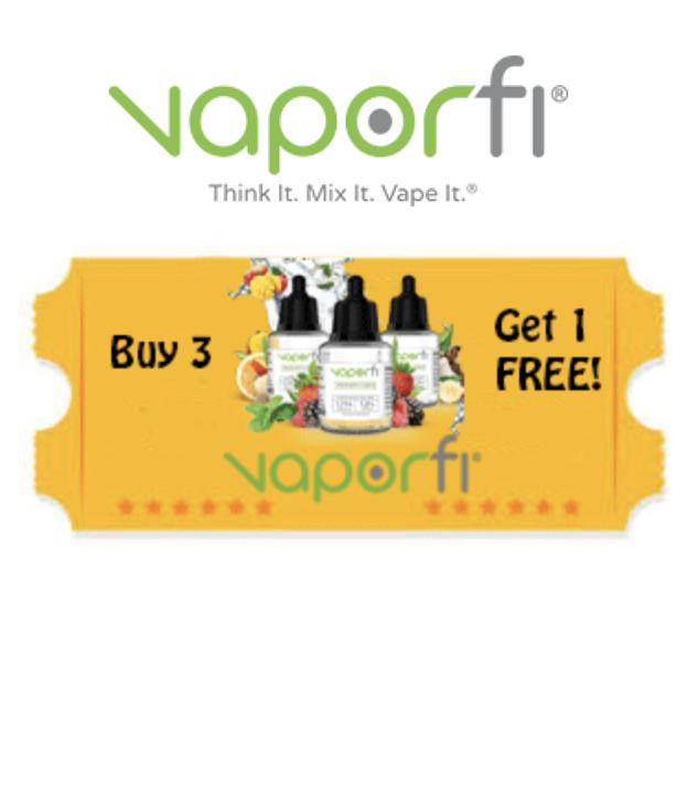 Vaporfi Buy 3 get 1 Free