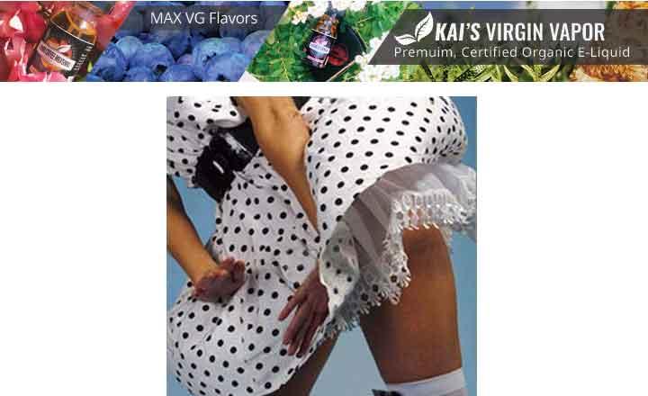 Kai's Virgin Vapor organic e-liquids