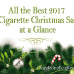 All The Best  2017 E Cigarette Christmas Sales at a Glance